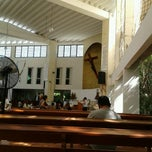 Photo taken at Catedral de Cancún by Jose Luis S. on 10/28/2012