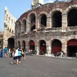Photo taken at Arena di Verona by Hans on 7/16/2013
