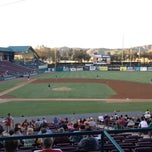 Photo taken at Lake Elsinore Diamond Stadium by Maura on 6/14/2013