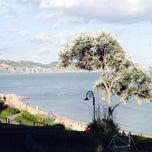 Photo taken at Lyme Regis by Paul on 8/13/2014