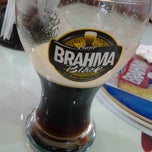 Photo taken at Quiosque Chopp Brahma by Joyce F. on 12/27/2012