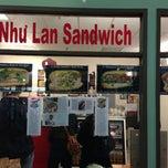 Photo taken at Nhu Lan Sandwich by Paul C. on 11/17/2012