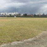 Photo taken at Huskins Field by Ben on 3/29/2013
