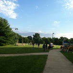 Photo taken at East Freehold Park & Showgrounds by Chase K. on 7/24/2013