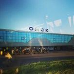 Photo taken at Международный аэропорт Омск-Центральный / Omsk Tsentralny International Airport (OMS) by Кирилл Е. on 6/24/2013