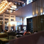 Photo taken at Glass Brasserie by Gagaga on 12/28/2012
