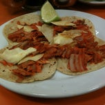 Photo taken at Tacos Los Tarascos by Juan on 10/3/2012