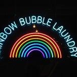 Photo taken at Rainbow Bubble Laundry by nanasaurus r. on 5/25/2014