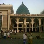 Photo taken at Masjid Nasional Al-Akbar by Dian P. on 10/25/2012