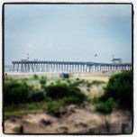 Photo taken at Ocean City Fishing Pier by Dave T. on 7/11/2013
