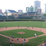 Photo taken at Wrigley Field by Jay M. on 6/23/2013