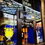 Photo taken at Everton Two Official Club Store by lunettes27 on 8/31/2013