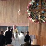 Photo taken at St. Gerard Majella Church by Liz on 4/27/2013