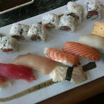 Photo taken at Mana Sushi by Melissa F. on 10/3/2012