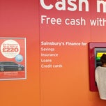 Photo taken at Sainsbury's by Jeffrey on 10/18/2012