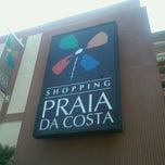Photo taken at Shopping Praia da Costa by Nayara C. on 3/13/2013