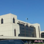 Photo taken at Jinnah International Airport (KHI) جناح بین الاقوامی ہوائی اڈہ by ALi S. on 1/1/2013