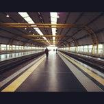 Photo taken at Stazione Fiumicino Aeroporto by S on 12/4/2012