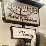 Photo taken at Brown's Chicken by Jim R. on 12/21/2012