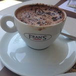 Photo taken at Fran's Café by Vanessa on 3/9/2013