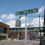 Photo taken at Bankers Life Fieldhouse Parking Garage by Aaron on 4/29/2013