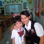 Photo taken at Prime One School (POS) by Dian G. on 7/15/2014