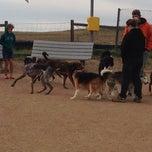 Photo taken at David Lorenz Dog Park by Vladislav D. on 10/20/2013
