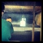 Photo taken at Sgt. Everett's Pistol Range by James Kyle V. on 2/23/2013