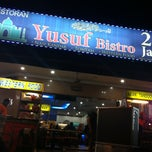 Photo taken at Yusuf Bistro by Hikaru on 4/14/2013