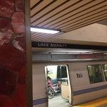 Photo taken at Lake Merritt BART Station by David H. on 11/28/2012