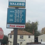Photo taken at BP by Calvin P. on 10/26/2012