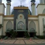 Photo taken at Masjid Agung AL-BARKAH Bekasi ® by Ndha K. on 5/22/2013