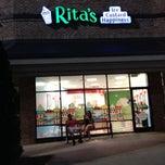 Photo taken at Rita's Ice Custard Happiness by Courtney on 5/12/2014