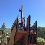 Photo taken at Pirate Ship Playground by Gretchen W. on 7/1/2014