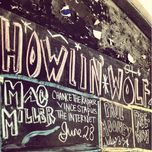 Photo taken at Howlin' Wolf by Mac Miller on 6/28/2013