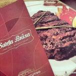 Photo taken at Santa Brasa Authentic Steaks by Maylon A. on 5/31/2013