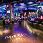 Photo taken at Hard Rock Cafe by Hard Rock Cafe on 1/7/2014