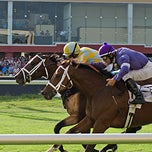 Photo taken at Remington Park Racetrack & Casino by Remington P. on 10/2/2013