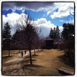 Photo taken at Buttermilk Falls Inn & Spa by Joseph G. on 3/27/2013