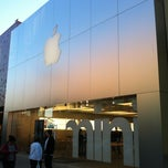 Photo taken at Apple Store, The Domain by Marius E. on 3/12/2013