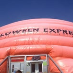 Photo taken at Halloween Express by Mandi on 9/7/2013