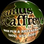 Photo taken at Seamus McCaffrey's Irish Pub & Restaurant by Carlos on 1/18/2013