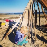 Photo taken at Sandy Point Plum Island Reservation by Bikabout on 10/5/2014