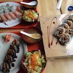 Photo taken at Sashimi Sashimi by Emily R. on 1/3/2014