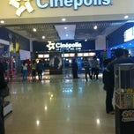 Photo taken at Cinépolis by Blanca on 9/27/2012