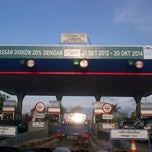 Photo taken at Gerbang Tol Cambaya by Imelda L. on 11/4/2013