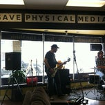 Photo taken at Rhythm Records Music Cafe by Jim E. on 4/20/2013