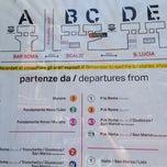 Photo taken at Imbarcadero ACTV Ferrovia by Ann on 7/18/2014