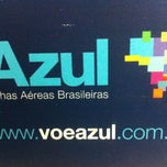 Photo taken at Check-in Azul by Kleber L. on 3/20/2013