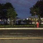 Photo taken at Harborwalk East Boston by Ilya V. on 6/6/2014